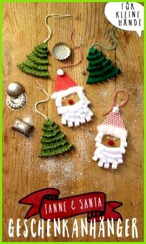 Süße Geschenkanhänger für Weihnachten basteln Geschenke Basteln Mit Kindern Diy Geschenke Selbstgemachte Weihnachtsdeko