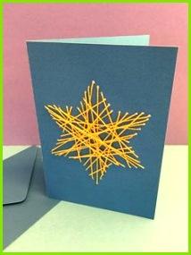 Adventskalender Fenster Nr 18 Jahresabos von KILUDO Advent Basteln Mit KindernEinfache KartenWeihnachtskarten Selber