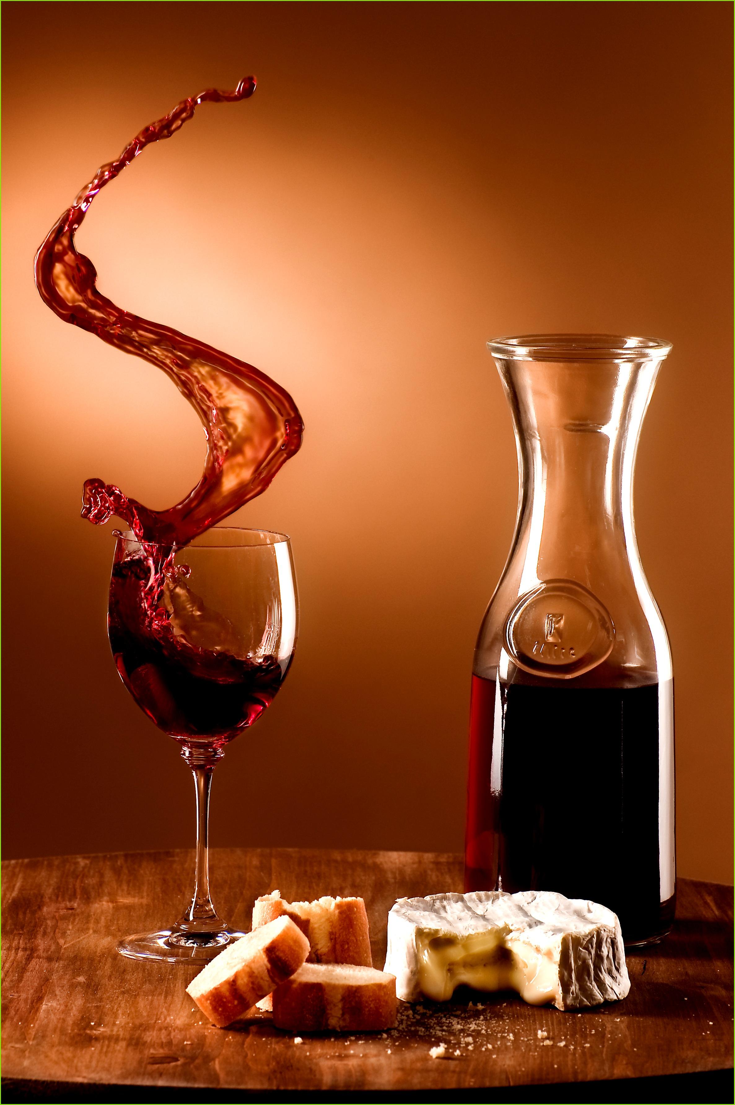 File Schwappender Wein