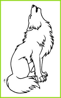 Wolf outline To be zentangled Konturen Zeichnen Tattoo Vorlagen Tattoo Ideen Malen