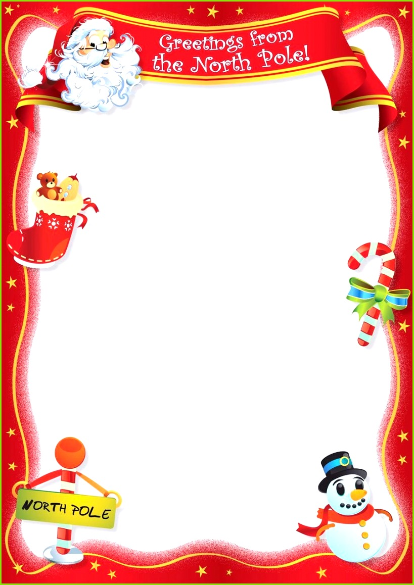 Free Blank Letter From Santa Template New Calendar Template Site KL52RirH