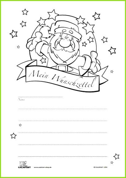 """Kostenloser Wunschzettel """"Weihnachten"""" zum"""