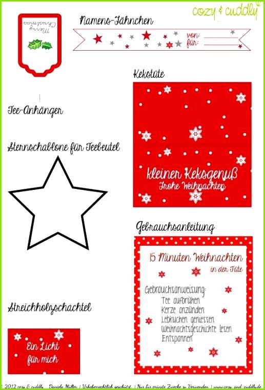 Adventskalender Türchen Nr 16 Besinnlichkeit schenken – Weihnachten in der Tüte
