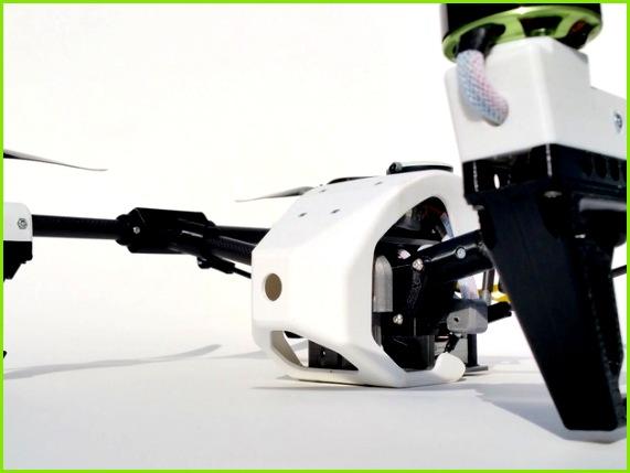 DJI Inspired 3D Printable Quad Multirotor Upgrades