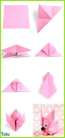 Anleitung Origami Hase talu Origami Noel Origami Blume Origami 3d