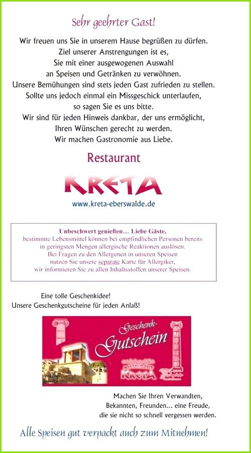 Allergenkennzeichnung Gastronomie Vorlage Allergene Speisekarte Vorlage