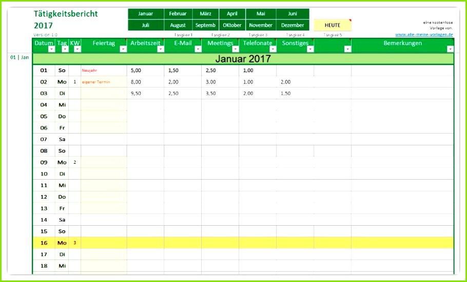 Excel Arbeitszeitnachweis Vorlagen 2017 15 Arbeitszeitnachweis Excel Vorlage Kostenlos
