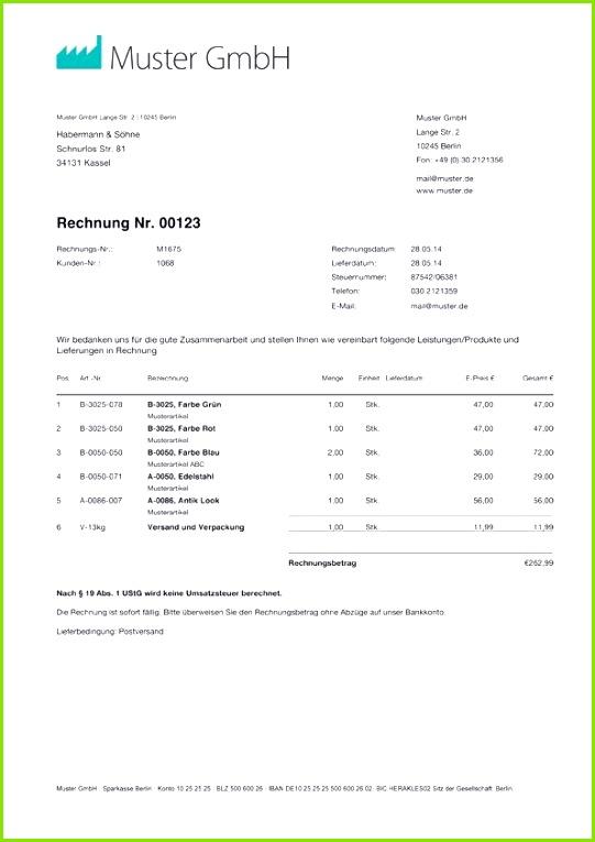 Schön Vorkasse Rechnung Muster Special Ausfallhonorar Rechnung Vorlage