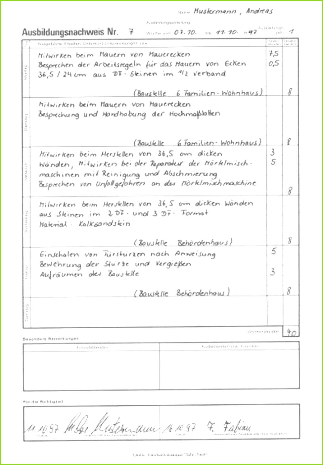 Ausbildungsnachweisen Berichtsheft Ihk Berichtsheft Vorlage Schön Beispiel Fr Einen Betrieblichen Auftrag Inkl Musterantrag Ihk Kassel