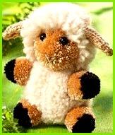 Schaf aus Wolle basteln Dieses niedliche Schaf aus Wolle basteln Sie ganz leicht selbst Hier