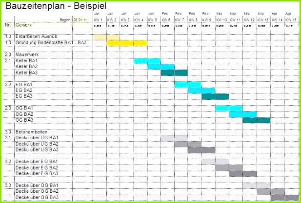 formularis Terminplan mit Tabellenkalkulation xls oder xlsx für