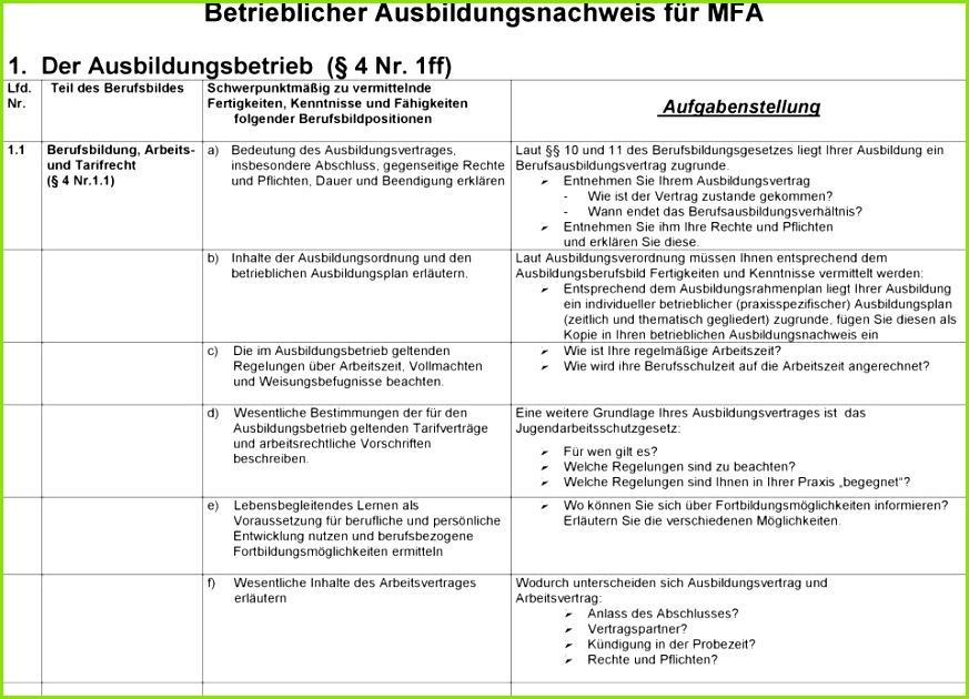 Berichtsheft Mfa Muster Berichtsheft Mfa Muster Inspirierend Berichtsheft Bankkaufmann