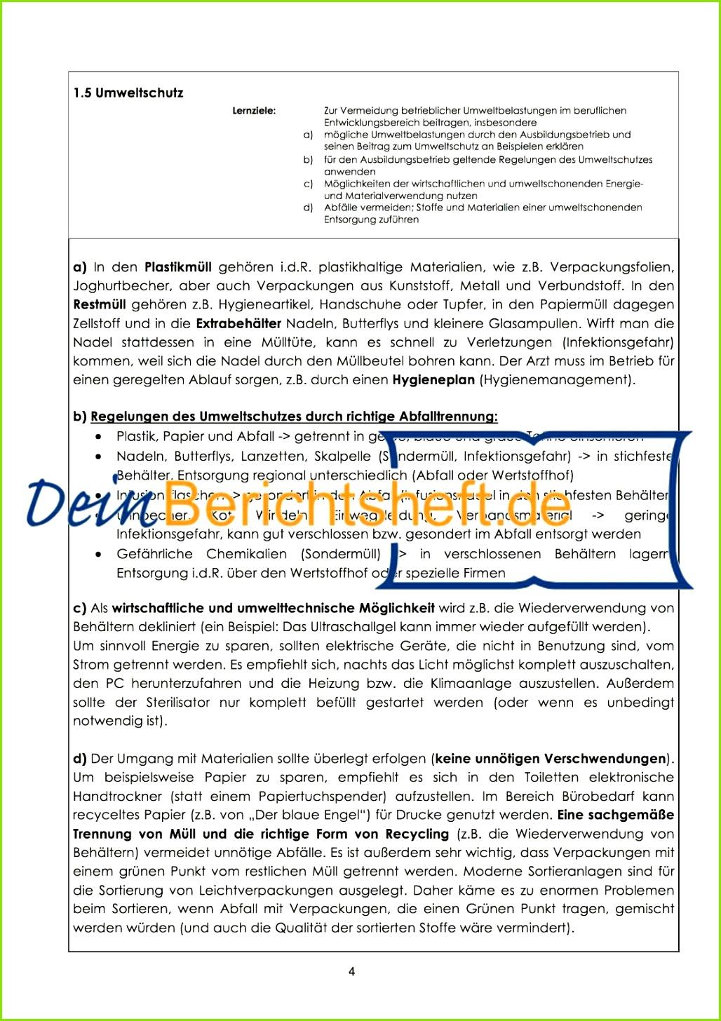 Excel Vorlage Haushaltsbuch Neu Berichtsheft Medizinische Fachangestellte Muster Vorstellung