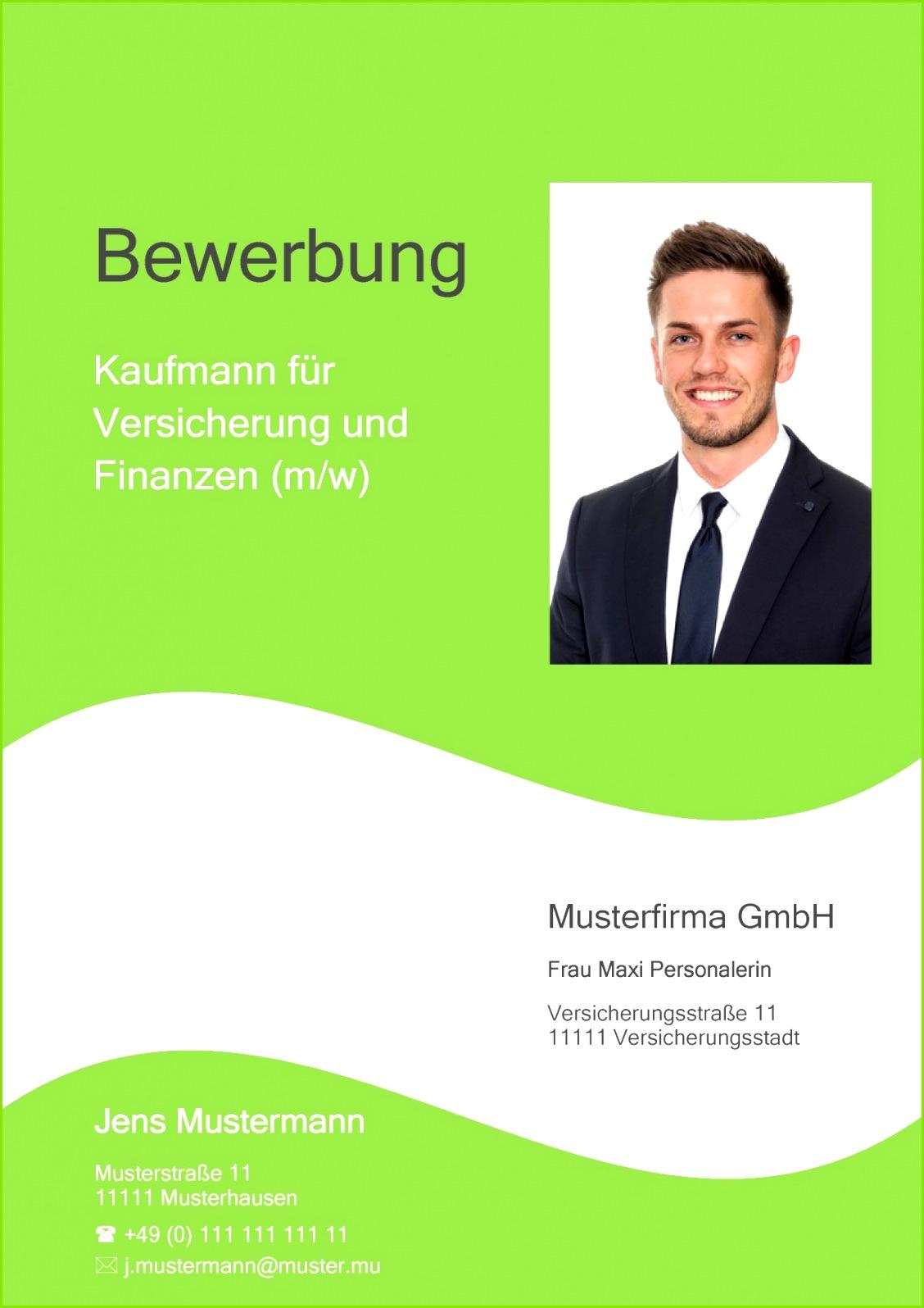 Deckblatt Bewerbung 01 Bewerbungsdeckblatt Kaufmann