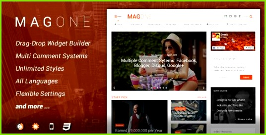 magone latest new updated version 4 4 0 for free blogger responsive magazine and newspaper style template latest new version update on june13