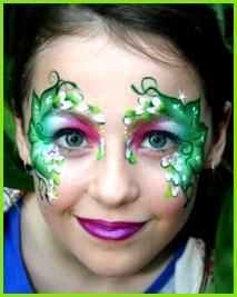 Fee schminken zu Fasching – 20 bezaubernde Ideen für Kinder & Erwachsene