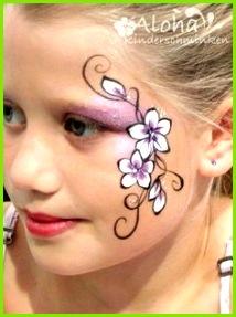 Kinderschminken Motive für Ihre Kinderparty