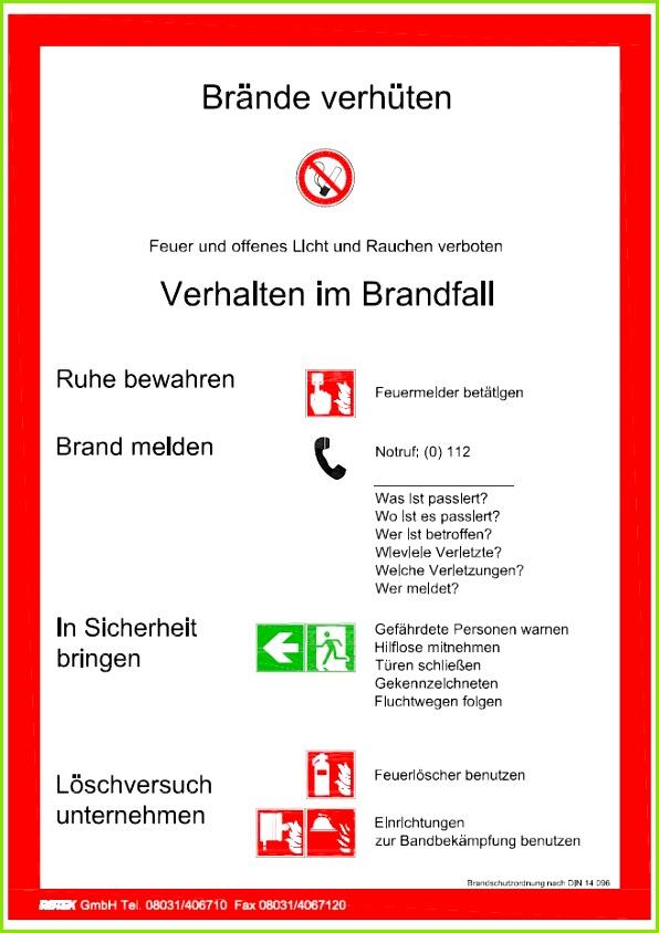 brandschutz teil a brandschutzordnung