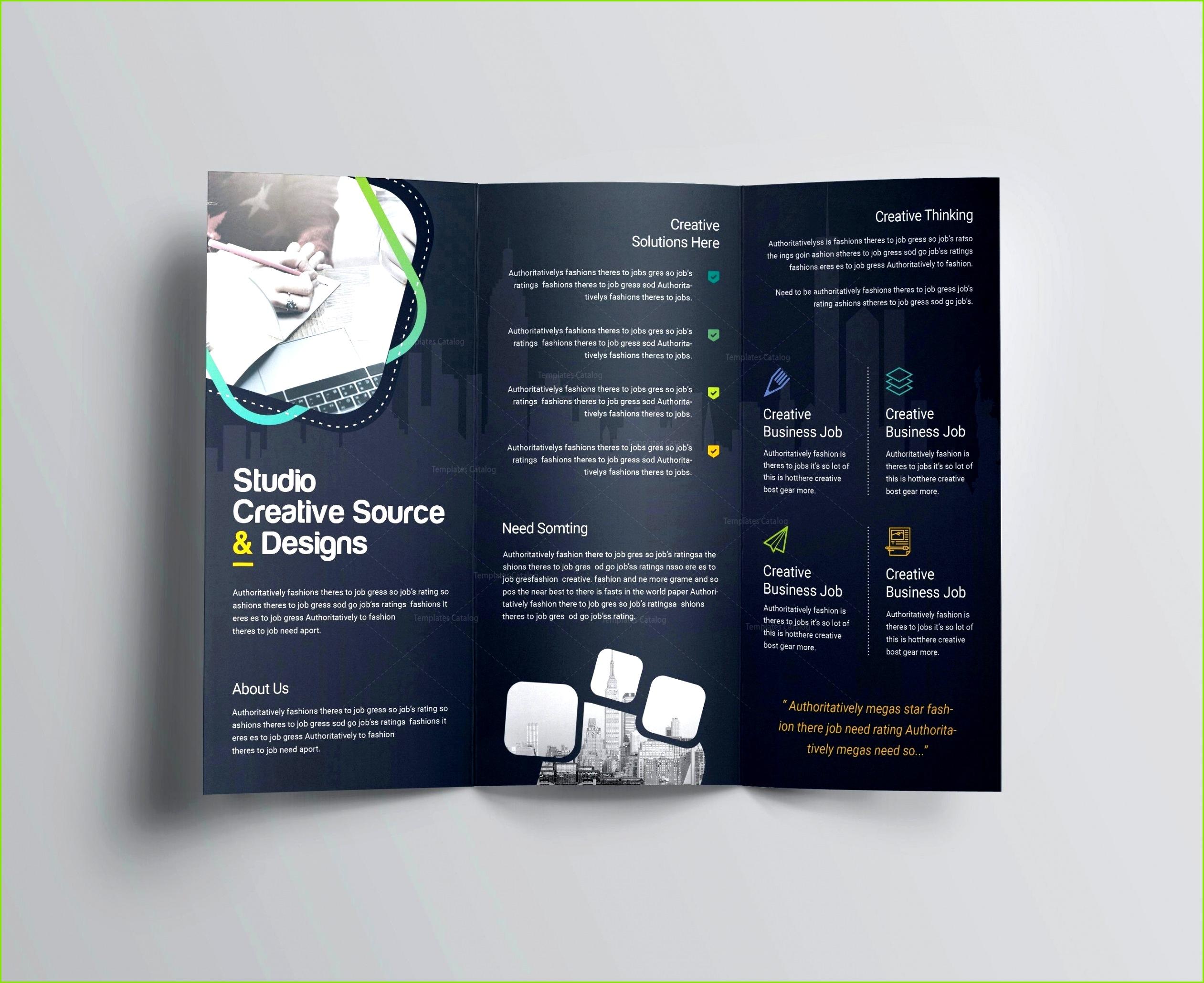 018 Template Ideas Free Half Fold Brochure Elegant Businessplan Vorlage Kostenlos Word Luxus