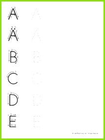 Read Today übungen zum Erlernen der deutschen Sprache Großbuchstaben schreiben lernen Deutsch Schreiben Lernen