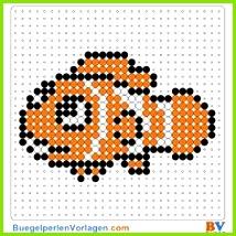 Nemo Bügelperlen Vorlage Auf buegelperlenvorlagen kannst du eine große Auswahl an Bügelperlen Vorlagen