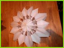 Stern aus Butterbrottüten supereinfach