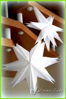 Butterbrottüten Stern ♥ Kreativ Sucht ♥