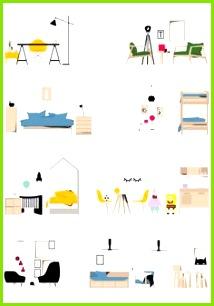 Piktogramm Architektur Zeichnungen Textur Grafik Design Architekturlayout Innenarchitektur Cad