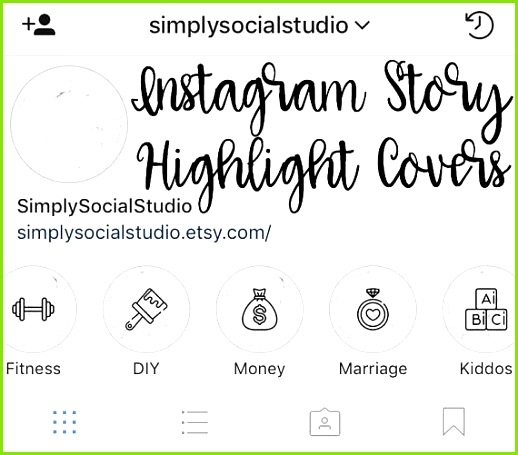 Instagram Story Highlight Icons Set of 15 Template for Instagram Stories marble Lifestyle blog