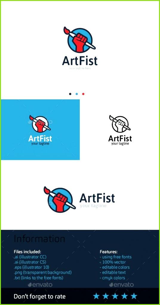 Artfist Logo Template america arm art brush circle clan color designer fight fist hand ink kulak logo paint painter power print russia
