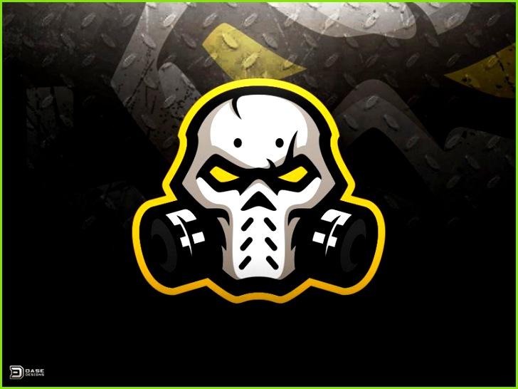 Skull Mask eSports Logo by Derrick Stratton