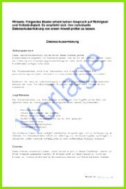 Umfassende Datenschutzerklärung auch für Kundendaten Vorlage zum Download