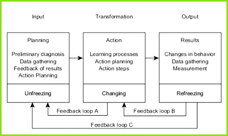 Action research in organization development[edit]