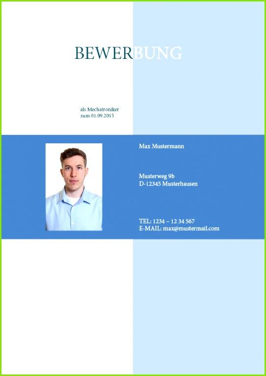Kostenloser Download Deckblatt Muster Nr 18