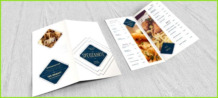 shop Mockup Vorlage für einen 4 seitigen DIN lang Flyer im Hochformat Variante 2