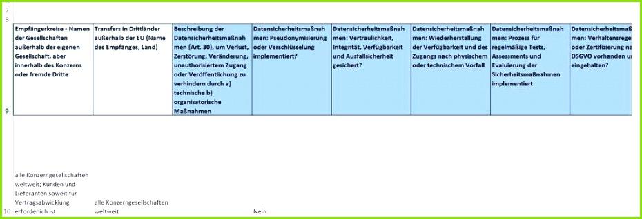 31 Verfahrensverzeichnis Praxisbeispiel schematisch vereinfacht 31