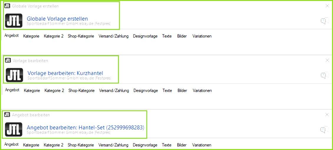 Jtl eazyauction ebay 001 angebot erstellen