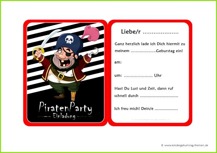 Einladung Kindergeburtstag Schatzsuche Einladungen Piraten Einladung Piraten Einladung 0d