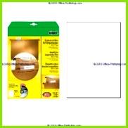 sigel PC Einsteckschilder für Hängemappen 60 x 21 mm weiß 185