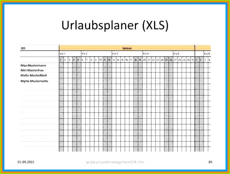12 Excel Urlaubsplaner Vorlage