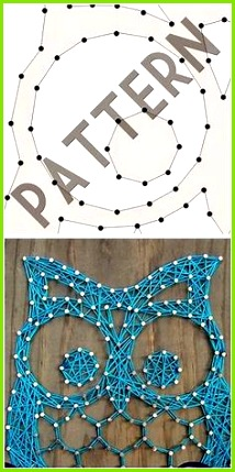 Free Printable String Art Patterns에 대•œ 이미지 ê²°ê³¼ Nadel Und Faden Häkeln Deko
