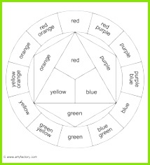 Basic Colour Wheel Template Printable Color Wheel Secondary Printable Color Wheels In New Coloring Pages Style Give the Best Coloring Pages