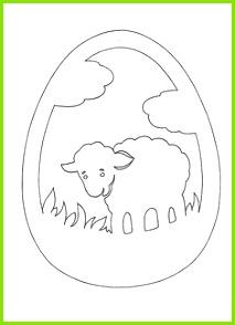 Vystřihovánka Laubsägearbeiten Ostern Basteln Frühling Fensterbild Ostern Ostern Vorlagen Scherenschnitt Papierkunst