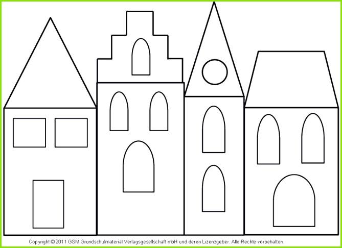 Fensterbild Häuser mit Transparentpapier 3 Me nwerkstatt Wissen © 2006 2008 Me nwerkstatt