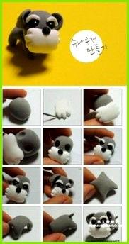 Polymer Clay Dog Tutorial