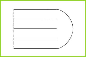 Die Vorlage wie oben in der Abbildung zu sehen ist zuschneiden 3 Die Vorlage auf das Papier legen 4 Um Vorlage herumzeichnen Ausschneiden