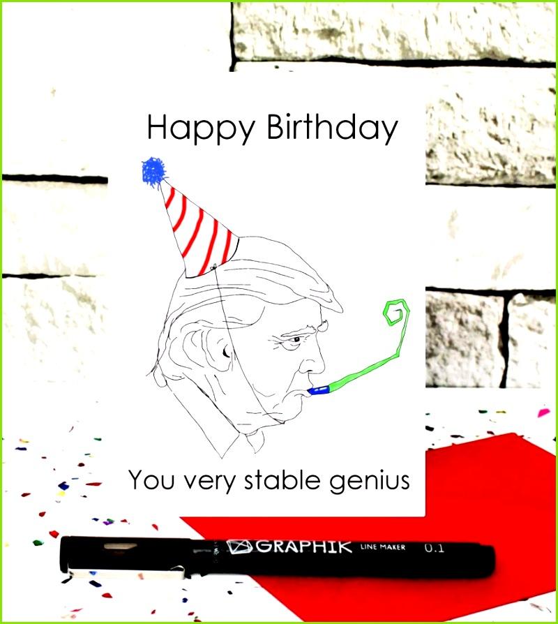 Geburtstagskarte Lustig Frau Genial Geburtstagskarte Basteln Vorlage WordPress
