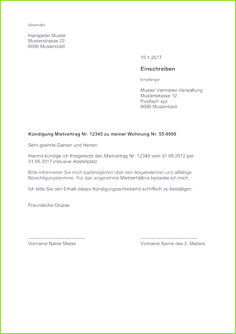 Ziemlich Miete Einzahlungsbeleg Vorlage Zeitgenössisch Beispiel Neues 30 Fristgerechte Kündigung Arbeitgeber Muster – Fristgerechte Kündigung Vorlage