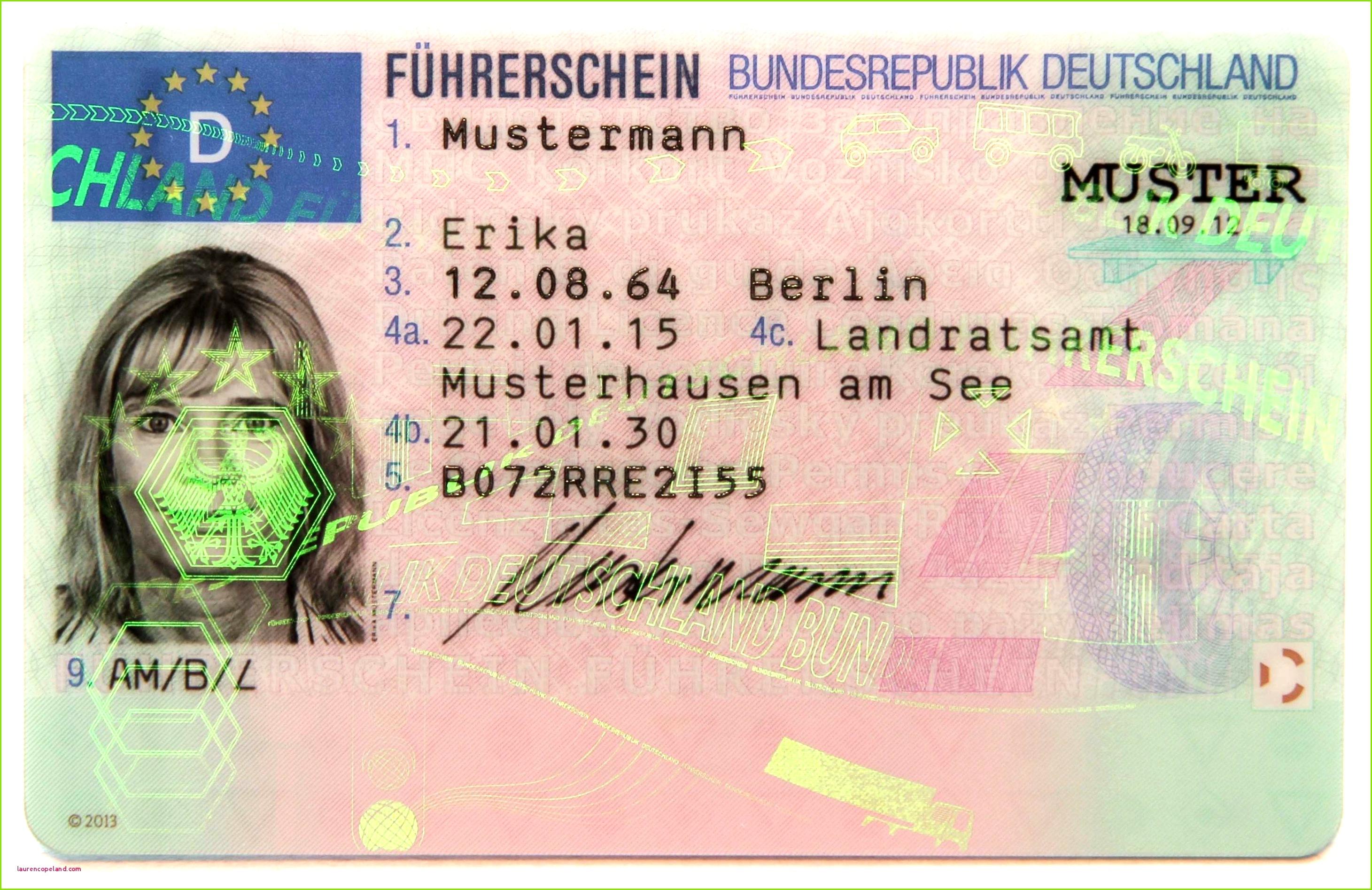 Fuhrerschein Vorlage Pdf 59 Wunderbar Führerschein Vorlage Bilder
