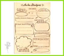 """Ihr sucht eine Alternative zum klassischen """"weißen"""" Gästebuch für eure Hochzeit"""